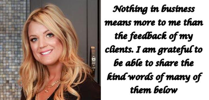 Marla Janzen Client Testimonials