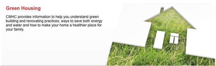 CMHC Green Home rebate Program